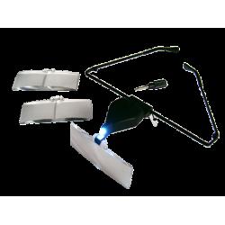 Okulary do przedłużania rzęs /LUPA+LAMPKA LED/