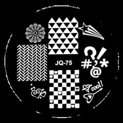 Blaszka do stempelka JQ-75
