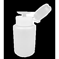 Dozownik do płynów 120 ml - PLASTIKOWY BIAŁY