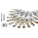 Naklejki samoprzylepne 3D